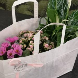 Blomstrande påse